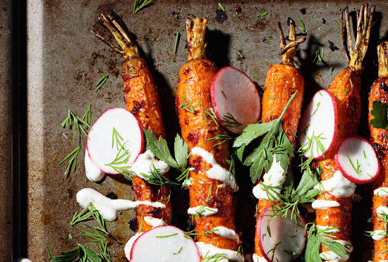 image for Harissa Roasted Carrots